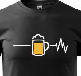 panske-tricko-motiv-pivo