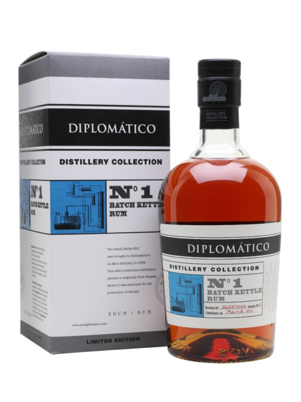 Diplomatico No. 1 Batch Kettle Rum Distillery Collection 2011 0
