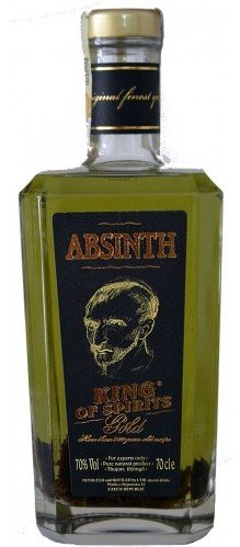 Absinth King of Spirits gold 0