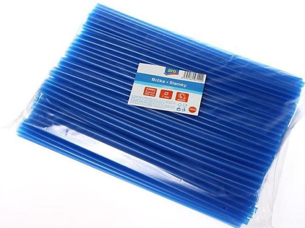 Brčka Jumbo modrá 250 ks