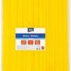 Brčka Jumbo žlutá 250 ks
