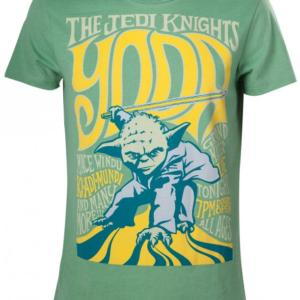 Bioworld Merchandising Star Wars Tričko - Yoda the Jedi Knight Velikost: XL