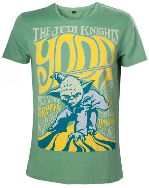 Bioworld Merchandising Star Wars Tričko – Yoda the Jedi Knight Velikost: XL
