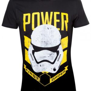 Bioworld Merchandising Star Wars Tričko - Stormtrooper Power Velikost: S