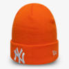 Čepice New Era MLB League essential cuff knit kids NEYYAN Oranžová