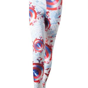 Bioworld Merchandising Captain America - All over Shield Legíny Velikost: XS