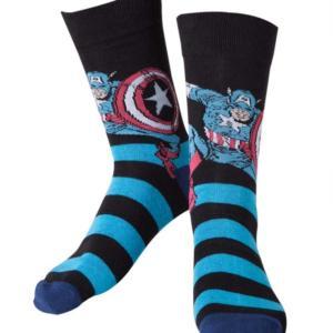 Bioworld Merchandising Marvel Ponožky - Captain America Velikost: 43/46