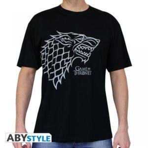 ABYSSE CORP Game of Thrones Tričko - Stark Velikost: XXL