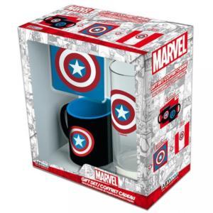 ABYSSE CORP Marvel Dárková Sada Captain America