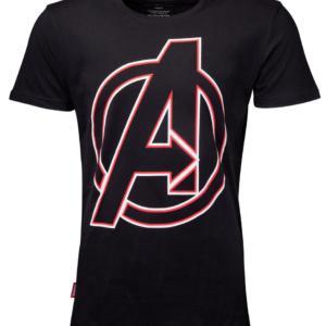 DIFUZED Avengers Endgame Tričko Character Names Velikost: XXL