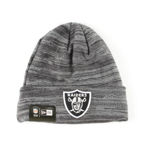 Čepice New Era NFL Shadow Tech Knit OAKRAI Šedá