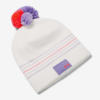 Čepice Under Armour Girl'S Triple Scoop Beanie-Wht Bílá