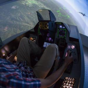 Zážitek - Letecký simulátor stíhačky F16 - Praha