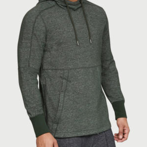 Mikina Under Armour Sportstyle Speckle Terry Hoodie Zelená