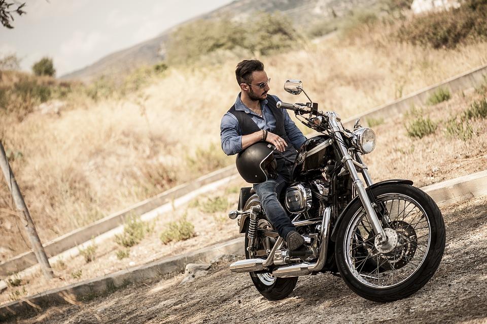 Jízda na Harley Davidson