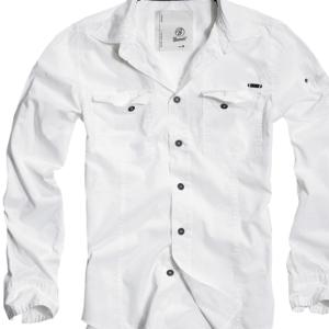 Brandit Košile SlimFit Shirt bílá XL