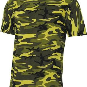 Tričko US T-Shirt Streetstyle yellowcamo 3XL