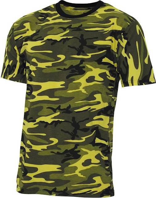 Tričko US T-Shirt Streetstyle yellowcamo 3XL