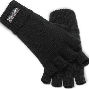 Brandit Rukavice Fingerstall černé L