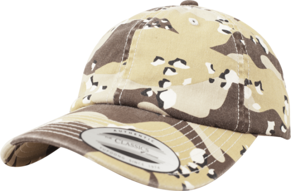 Brandit Čepice Baseball Cap Low Profile Camo Washed desert 6 barev