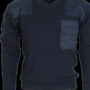 Pulovr BW Commando modrý tm. (navy) 64