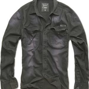 Brandit Košile Hardee černá 3XL