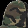 Brandit Čepice Baseball Cap Camo Trucker woodland | černá