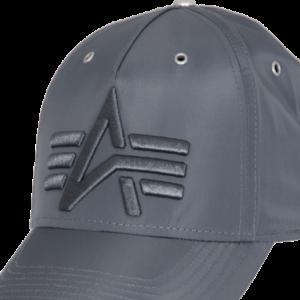Alpha Industries Čepice Baseball Cap Flight rep. šedá
