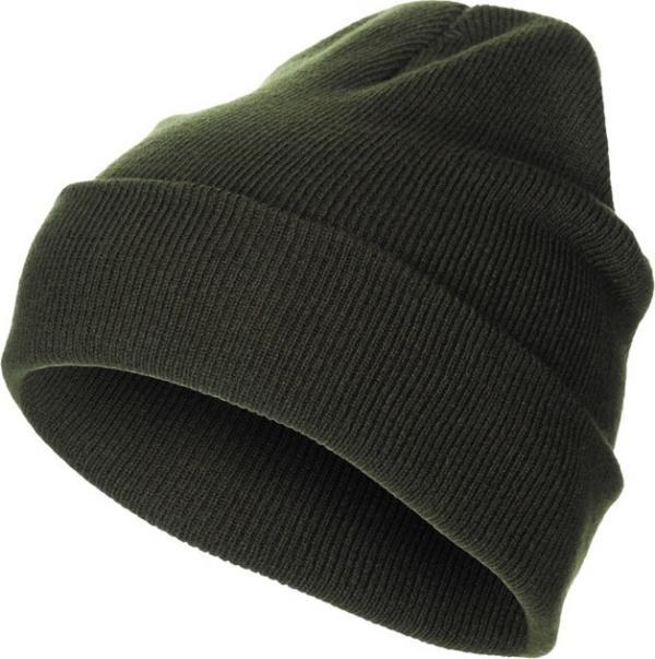 Čepice Watch Cap jemný úplet MFH zelená