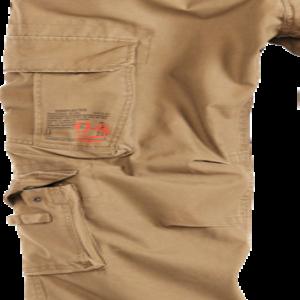 Surplus Kalhoty Airborne Slimmy béžové L
