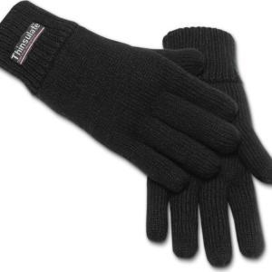 Brandit Rukavice Knitted Gloves černé L