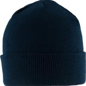 Čepice Watch Cap jemný úplet STURM modrá tmavě