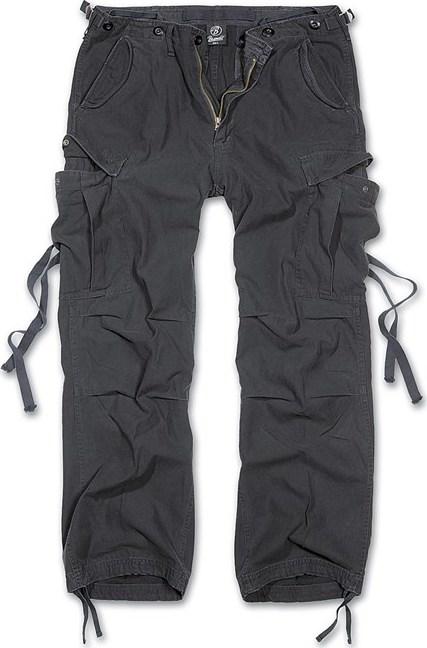 Brandit Kalhoty M65 Vintage Trouser černé 7XL