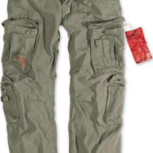 Surplus Kalhoty Airborne Vintage olivové 3XL