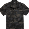 Brandit Košile US Shirt Ripstop 1/2 Arm darkcamo 5XL