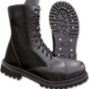 Brandit Boty Phantom Boots 10-dírkové černé 48 [13]