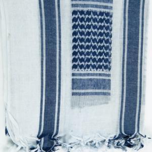 Šátek Palestina bílá | modrá