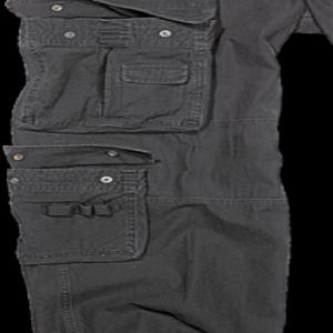 Brandit Kalhoty Pure Vintage Trouser černé 7XL