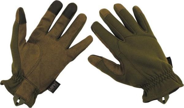 Rukavice taktické prstové olivové XXL