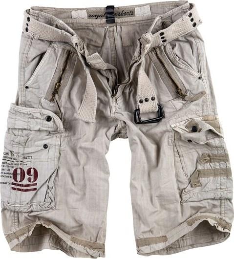 Surplus Kalhoty krátké Royal Shorts royalwhite XL