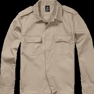 Brandit Košile US Hemd 1/1 béžová XXL