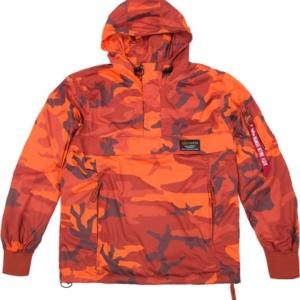 Alpha Industries Bunda Glider Anorak orangecamo 3XL