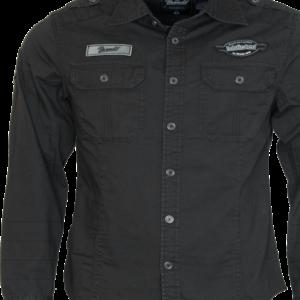 Brandit Košile Luis Vintageshirt černá 7XL