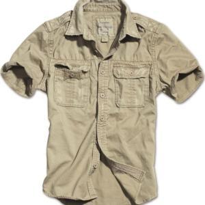 Surplus Košile Raw Vintage Shirt 1/2 béžová XXL
