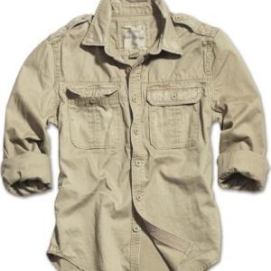 Surplus Košile Raw Vintage Shirt 1/1 béžová XXL