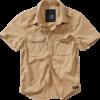 Brandit Košile Vintage Shirt Shortsleeve 1/2 camel 4XL