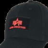 Alpha Industries Čepice Baseball Cap VLC II černá   červená