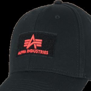 Alpha Industries Čepice Baseball Cap VLC II černá | červená