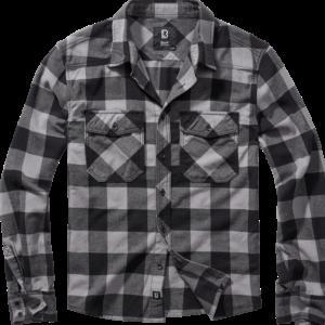 Brandit Košile Check Shirt černá | antracitová 7XL