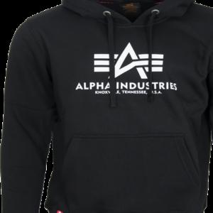 Alpha Industries Mikina Basic Hoody černá S